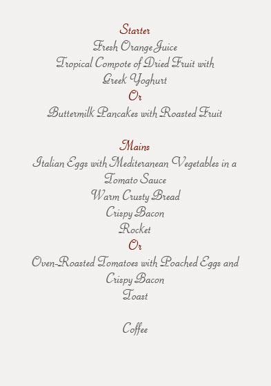 thanksgiving dinner menu formal templates officecom